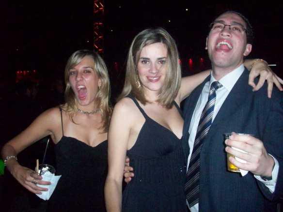 Aninha, Jaque e Henrique. Eles não têm nada a ver com o post. Só são animados.