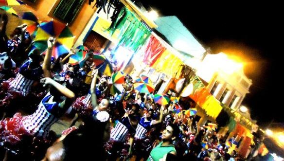 Frevo no Carnaval de Olinda em 2011