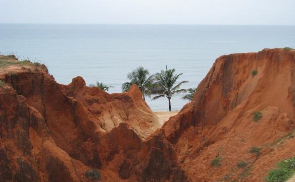 Falésias em Morro Branco - Fortaleza - Ceará