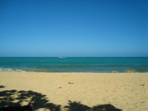 E essa praia?